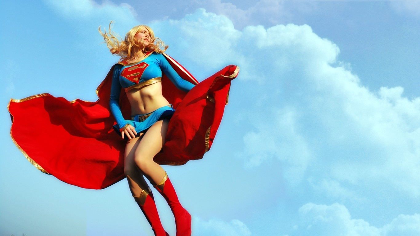 Anime Cosplay Girl Wallpaper 20 Fotos De Las Mejores Cosplay De Supergirl Fotos