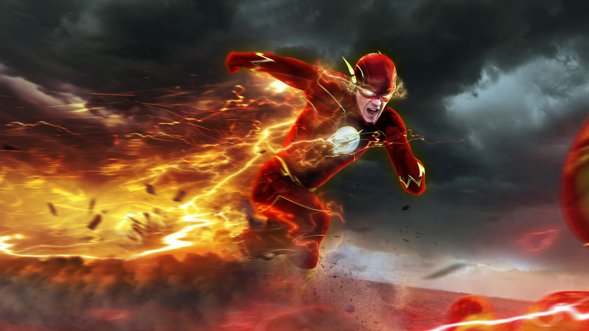 Barry Flash Allen Cw