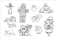 Dibujos de Halloween para colorear, imgenes halloween