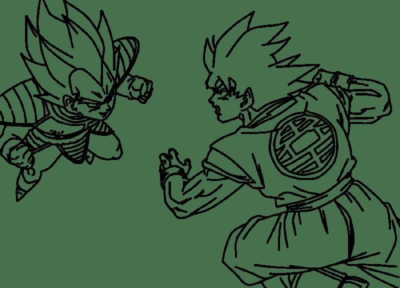 Dibujos para colorear de Goku