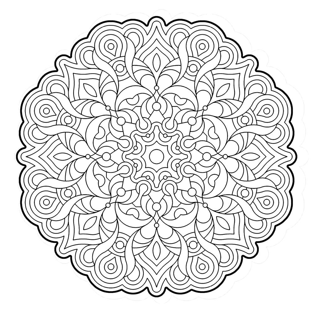 Mndalas Para Colorear Dibujos Mandalas Para Imprimir
