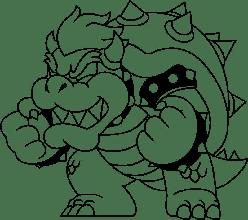 Kleurplaten Mario 3d World Coloriage Dessin Anim Pour