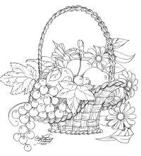 Dibujos Para Colorear Frutas De Otoño Dibujos De Fruta Para