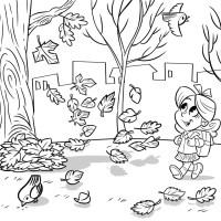 Dibujos de Otoo para colorear e imprimir gratis