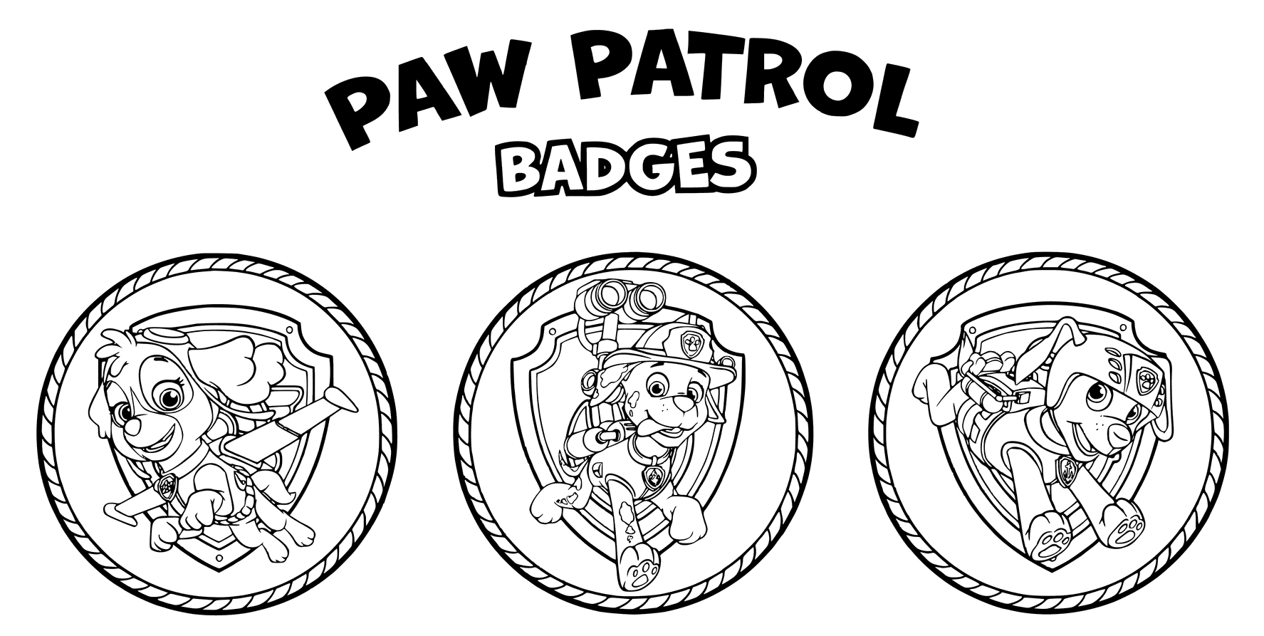 Paw Patrol Chase Coloring Pages To Print Coloring Pages