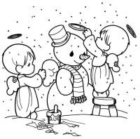 Dibujos de Navidad para colorear, imgenes Navidad para ...