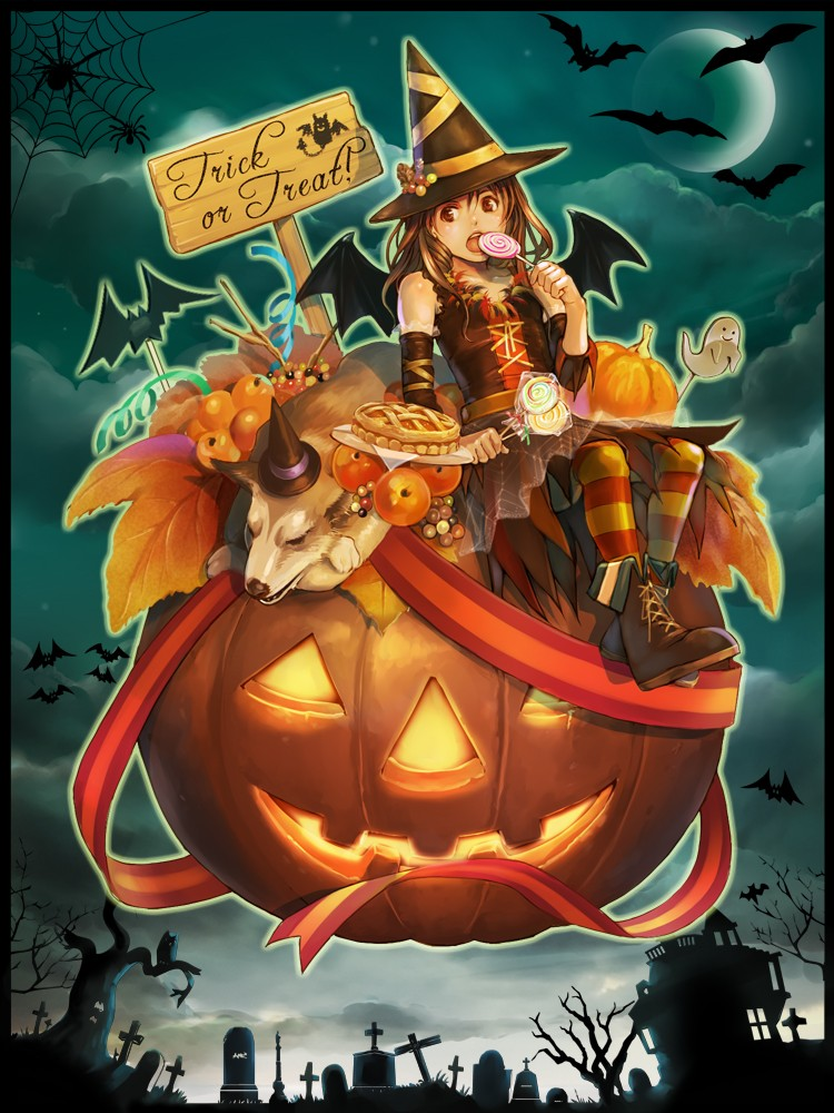 Pc Fall Wallpapers Halloween Manga Y Anime Para Android E Iphone Fondos Movil