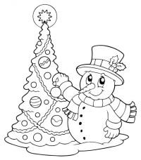 Dibujos de rboles de Navidad para colorear e imprimir