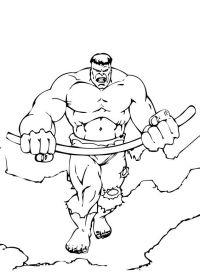 Hulk Imagenes Para Colorear Dibujos Para Colorear De