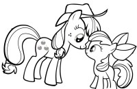 Dibujos de My Little Pony para colorear, pintar e imprimir