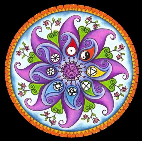 Imgenes con Mandalas de colores