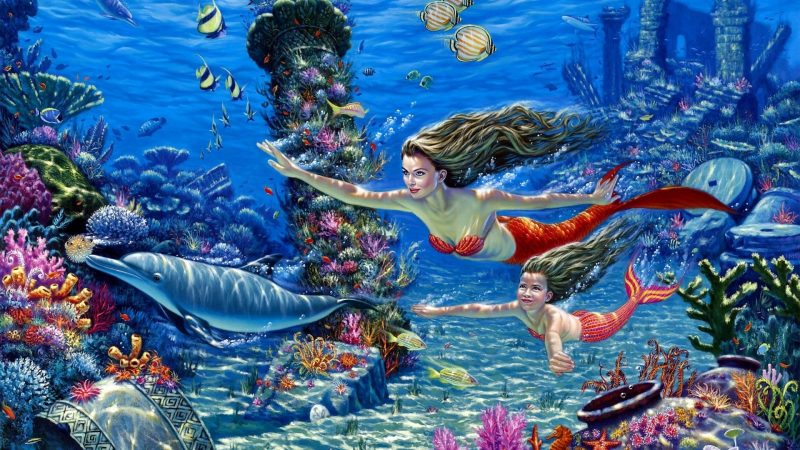 Fondos de pantalla de Sirenas Hermosas Wallpapers HD Gratis