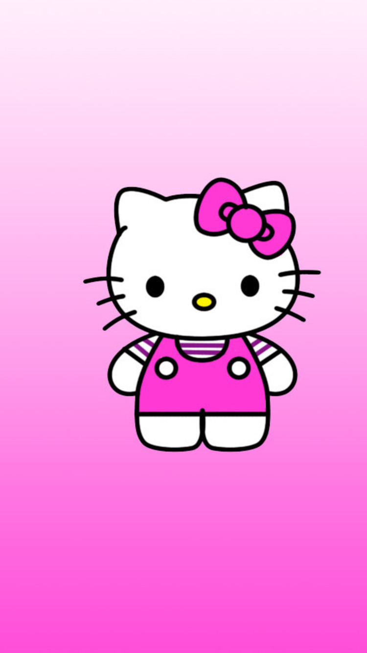 Cute Bow Wallpaper For Iphone Fondos De Pantalla De Hello Kitty Para Celular Wallpapers