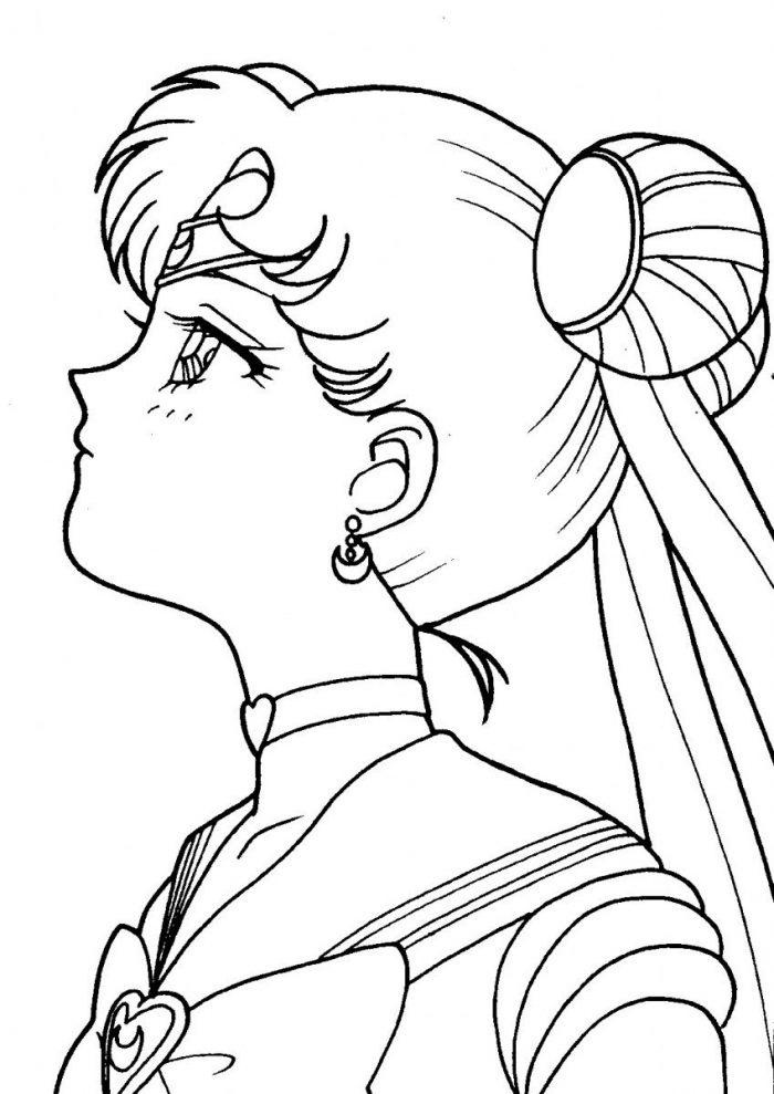 Tambien puedes colorearlo facilmente con el cubo de pintura o pincel magico, perfecto para niños mas pequeños. Dibujos de Sailor Moon para Colorear, pintar e Imprimir Gratis