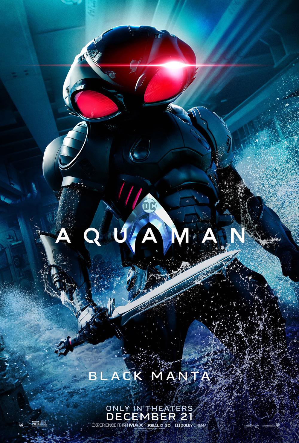 Trailer en espaol de la pelcula Aquaman 2018 sinopsis