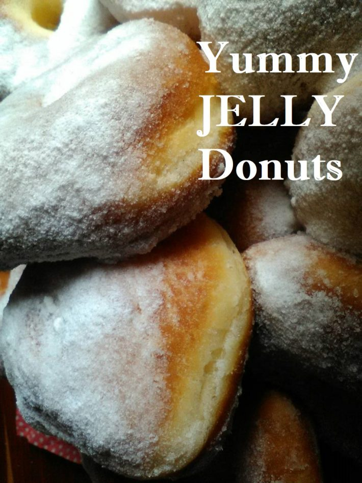 YUMMY JELLY DONUTS