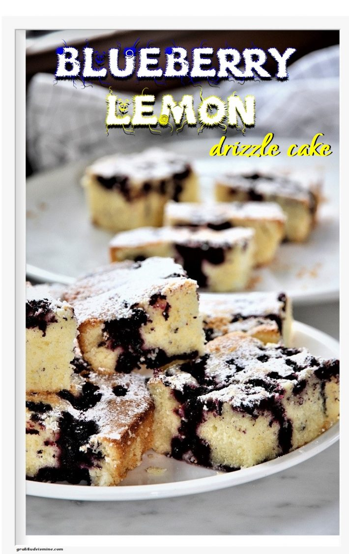 BLUEBERRY & LEMON DRIZZLE CAKE