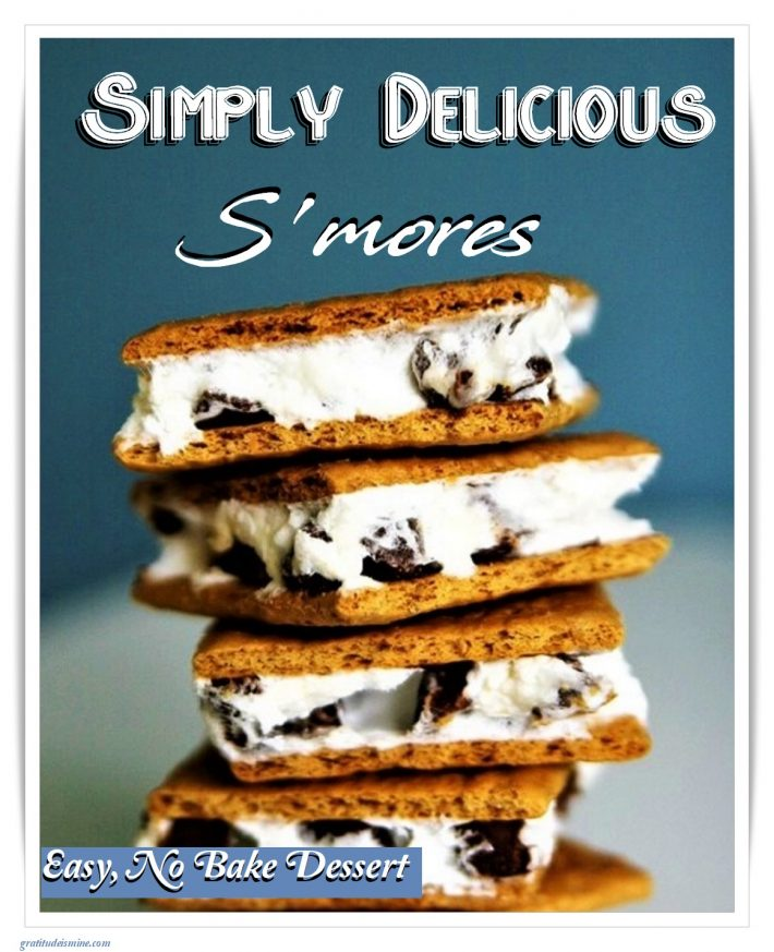SIMPLY DELICIOUS- S'MORES