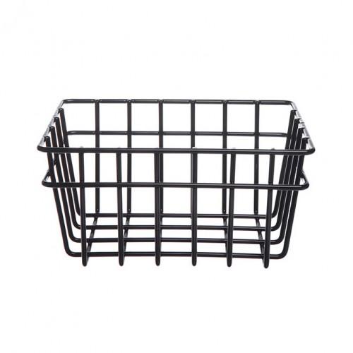 Wire Storage Basket- 3 pack black