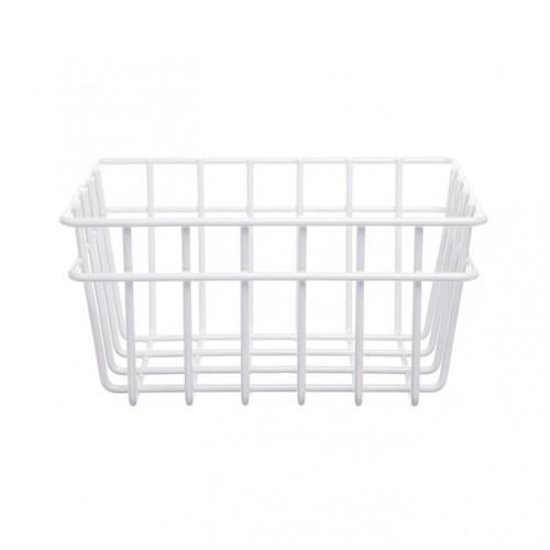 Wire Storage Basket- 3 pack White