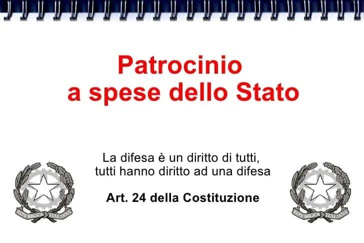 Gratuito patrocinio Milano