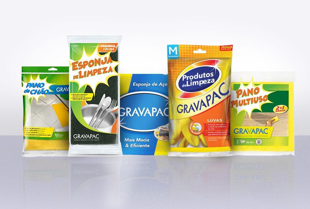 Embalagens para Produtos de Limpeza