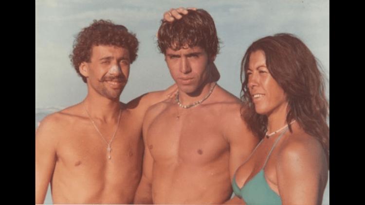 En Chapa, 1981 Fernando, Santiago Aguerre y Norma Mattalia, los tres socios fundadores de Ala Moana...