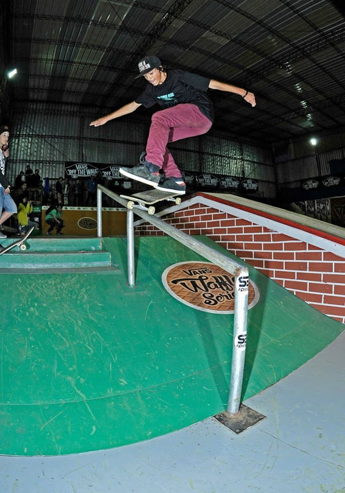 Mauro Iglesias - Flip Fs Boardslide