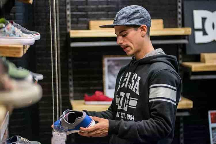 Conociendo los nuevos modelos de DC shoes  Ph. Sege