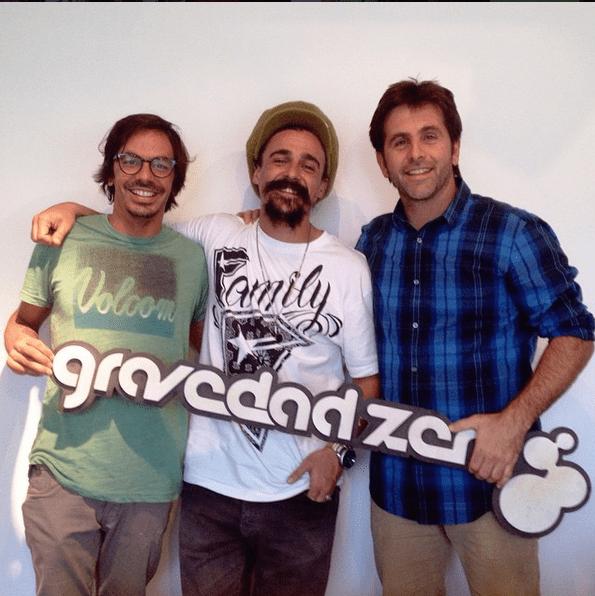 De izquierda a derecha: Mateo Rojas, Mariano Castro y Nico Nervi.