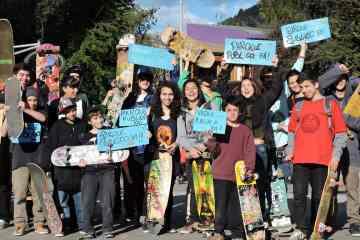 Sigue la lucha por el Skatepark público en San Martín de Los Andes