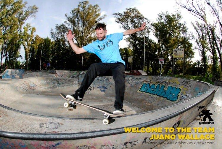 Juano Wallace se une al Team Gotcha