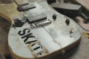 La historia de Skate Guitar y Pearl Jam