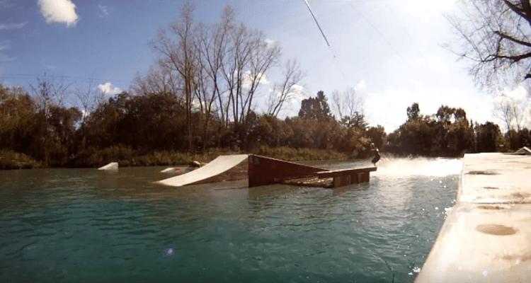 Crear tu propio obstáculo de wakeboard