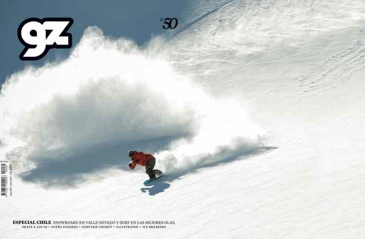 Luz, contra luz, formas, actitud, magia eso representa el snowboard y la montaña. Nico Natalucci lo entendió así y sale en posición de ataque después de meter una tremenda batida en polvo