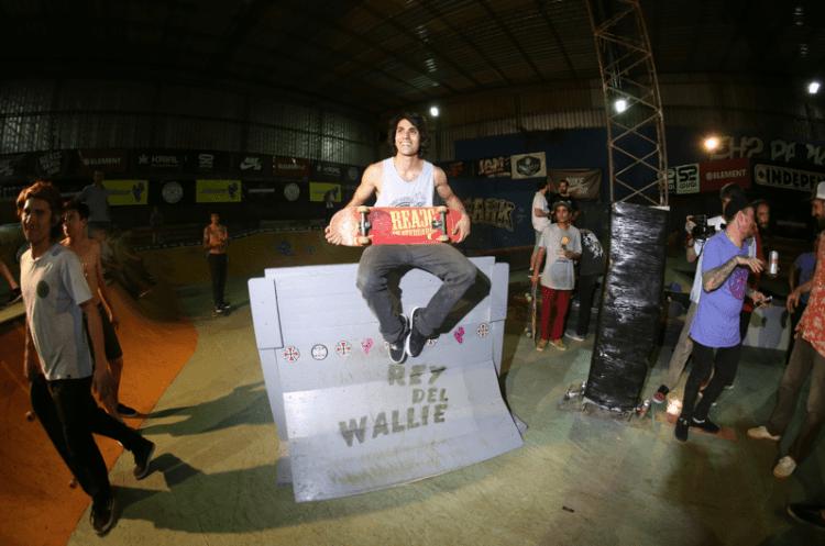 Nico Fernández ganador del Wallie más alto