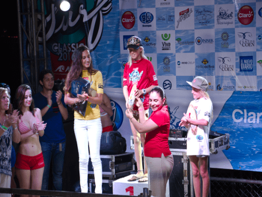 Valentina Resano, de Nicaragua, es la campeona Latinoamericana más joven en la historia del Tour Latinoamericano ALAS y la primera Campeona proveniente de Nicaragua. Foto: ALAS