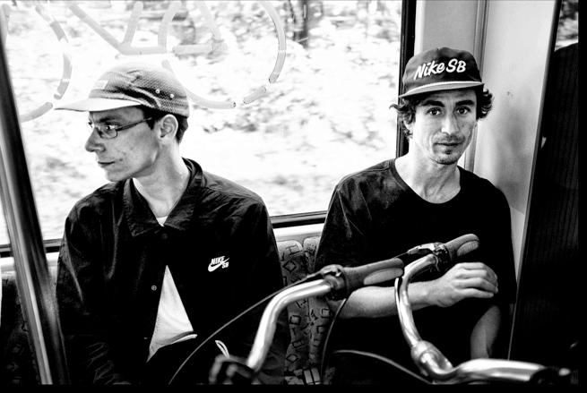 Paris y Stavros en Berlín.