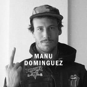 Manu Dominguez Snowboard