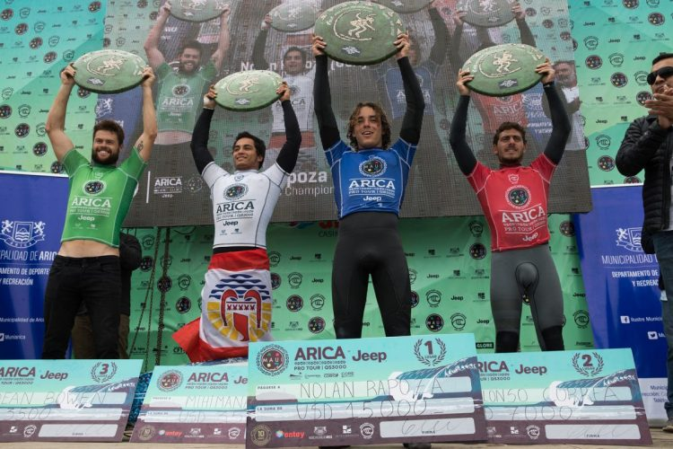 nolan rapoza campeon trofeo arica pro tour el gringo alonso correa