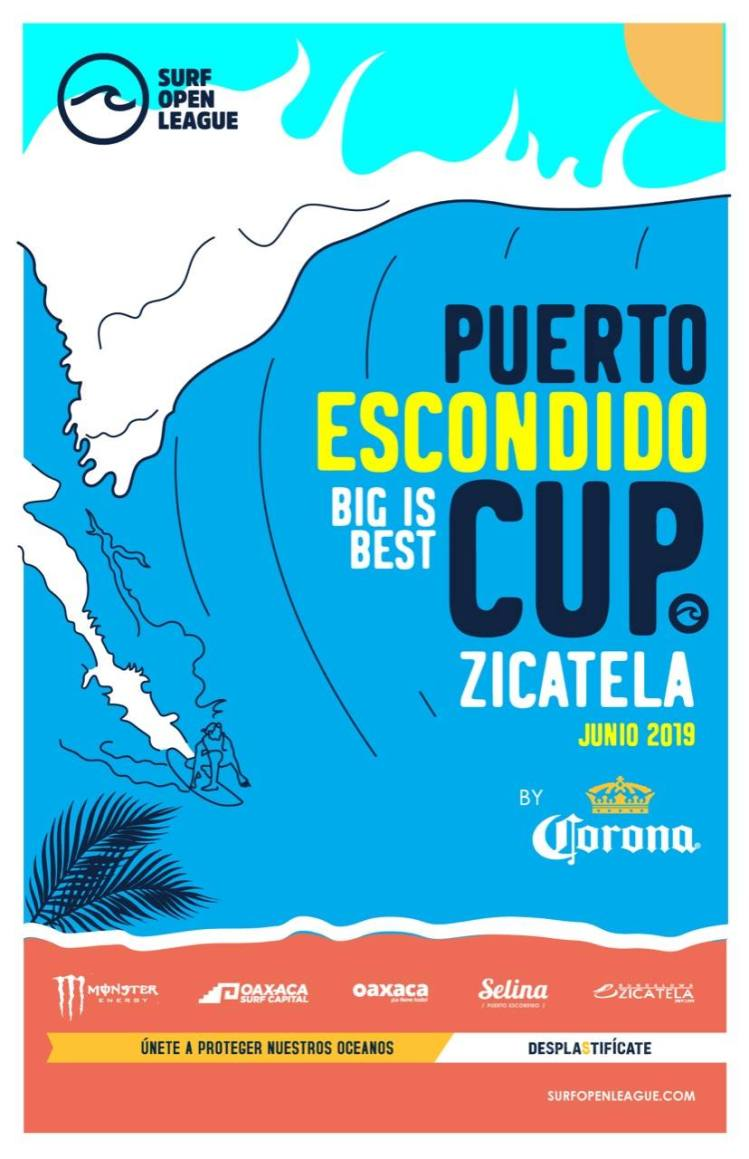 puerto escondido cup surf zicatela ola grande