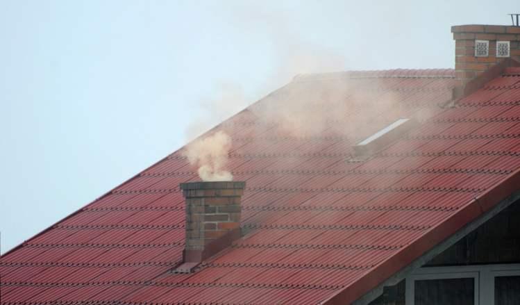 contaminacion smog casas aire