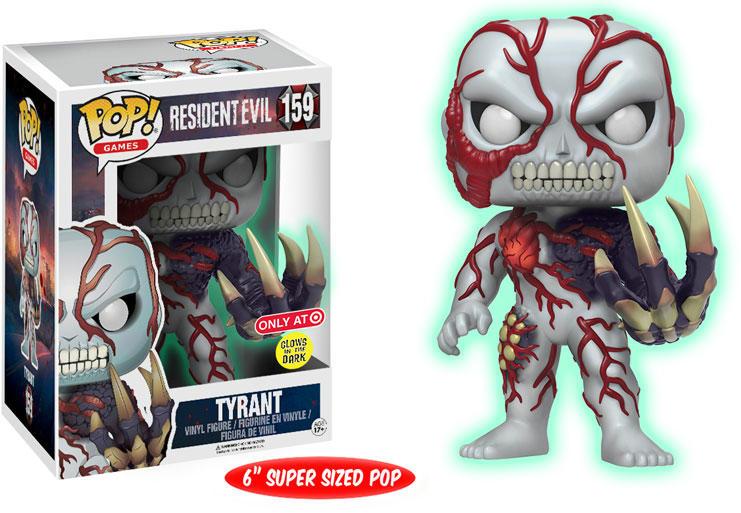 Funko Pop! Games #159 Resident Evil Tyrant [6-Inch, Glow-in-the-Dark]