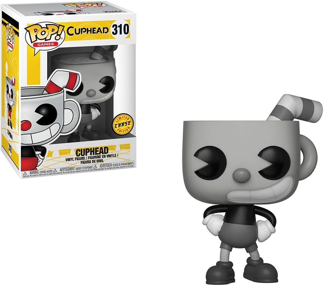 Funko Pop! Games #310 Cuphead Cuphead [Black & White]