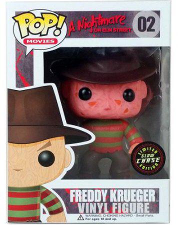 Funko Pop! Movies #02 A Nightmare on Elm Street Freddy Krueger [Glow-in-the-Dark]