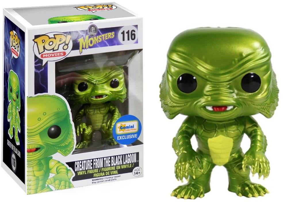 Funko Pop! Movies #116 Universal Monsters Creature from the Black Lagoon [Metallic]