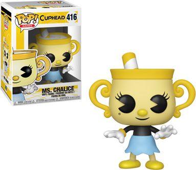 Funko Pop! Games #416 Cuphead Ms. Chalice
