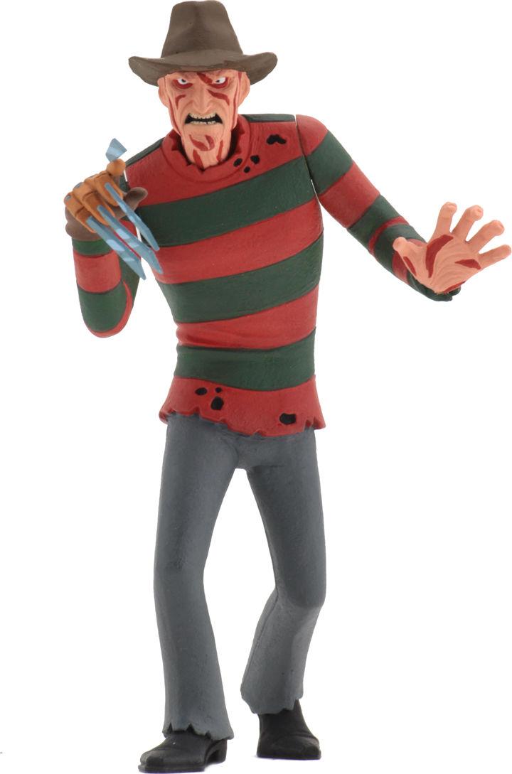 NECA Toys Toony Terrors Series 1 A Nigtmare on Elm Street Freddy Krueger 6-inch Action Figure