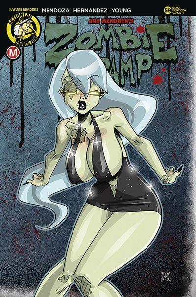 Variant Cover by Dan Mendoza