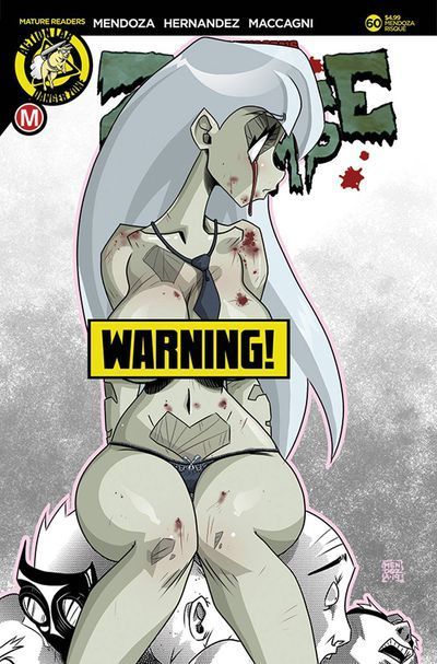 Cover F by Dan Mendoza (Erotic)